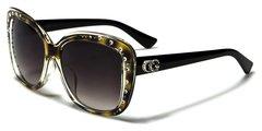 1809 CG Eyewear Rhinestone Black Tortoise Shell