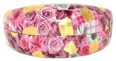 Flower Pink Gold Hard Case
