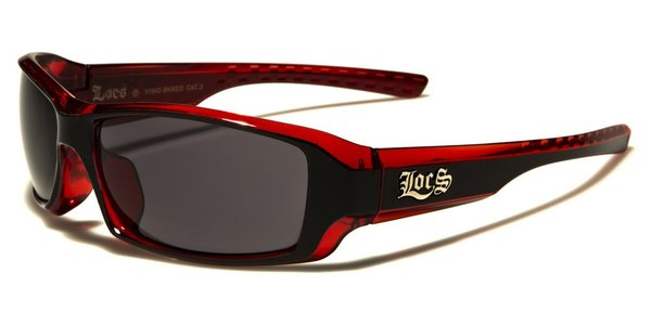 91042 Locs Wrap Black and Red