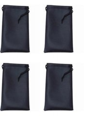 Microfiber Bags Black – 4 Bags