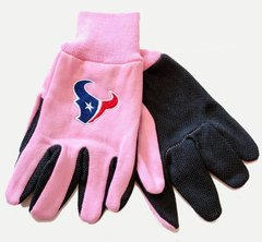 NFL Houston Texans Sport Utility Gloves Pink