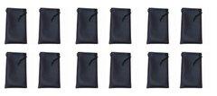 Microfiber Bags Black Wholesale Dozen