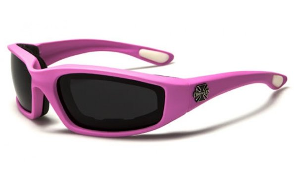 901 Choppers Pink Black Lens