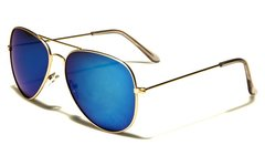 101 Aviator Gold Blue