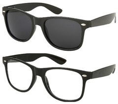 Retro – 1 Black and 1 Clear Lens