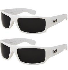 9003 Locs White – 2 Pair