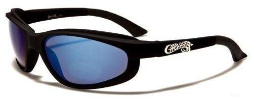 6631 Choppers Black Blue Lens
