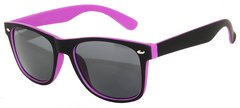 Retro Two-toned Black and Purple
