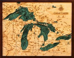 GREAT LAKES - ( All 5 Lakes )