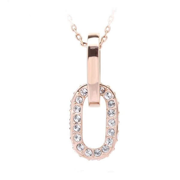 Ouxi High End Fashion Jewellery Necklace Made With Crystals From Swarovski
