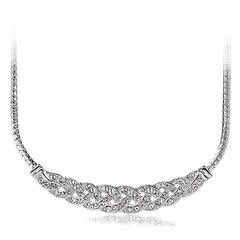 ZENA Stylish Necklace Made With Crystals From Swarovski
