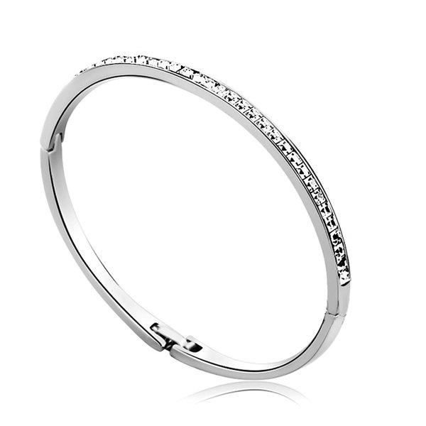 Ouxi Bangle Made With Crystals From Swarovski
