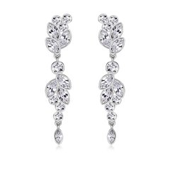 ZENA Earrings Made With Crystals From Swarovski