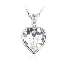 Zena Heart Necklace Design Made With Crystals From Swarovski