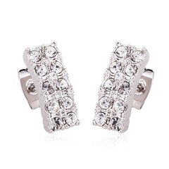 Ouxi Zircon Stud Earrings