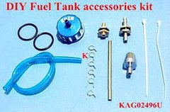 KUZA DIY Fuel Tank Accessory Kit