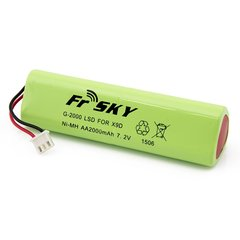 FrSky Taranis 2000 mAH Battery Upgrade