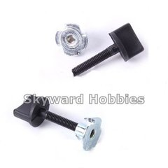 Nylon Wing Bolt with Blind Nut   Set of 2    M5 x 26mm
