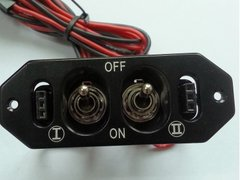 Aluminum Heavy Duty Dual Power Switch