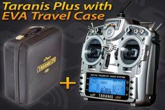 FrSky TARANIS X9D Plus with Eva Travel Case