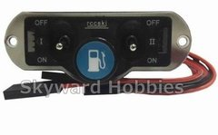 Heavy Duty Dual Power Switch with Fuel Dot