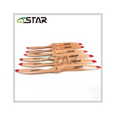 6Star 3D Wooden Propeller    28x10