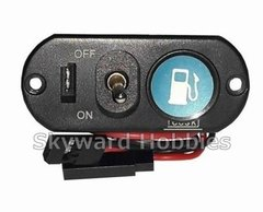 Heavy Duty Single Power Switch with Fuel Dot