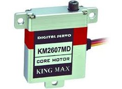 KingMax 26g High Performance Digital Aluminum Case Wing Servo