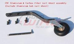 KUZA Tail Wheel Assembly 85-120CC