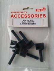 KUZA Nylon Wing Bolt     Set of 6    6mm