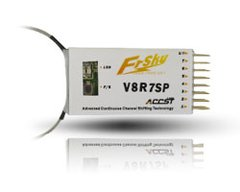 FrSky V8R7SP 7 Channel Receiver combined PPM