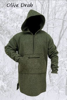 Northwoods Anorak Olive Drab (Blanket Weight)