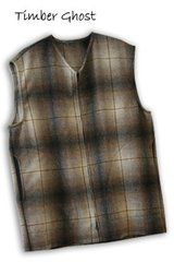 Wool Vest Timber Ghost