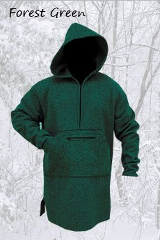 Northwoods Anorak Forest Green