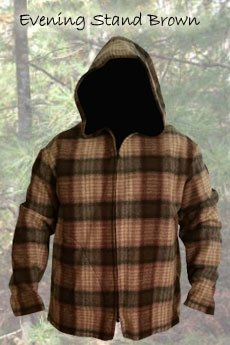 Jacket Evening Stand Brown