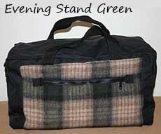 Northwoods Duffle Evening Stand Green