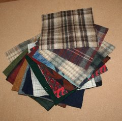Wool Quilt Squares