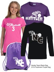 North Canyon Volleyball Player Pack