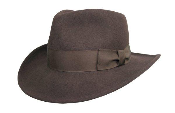 Basic Raider Fedora Hat in Brown #NHT138-99