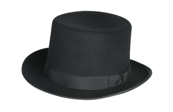 Classic Top Hat in Black #NHT01-01