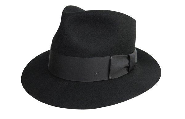 New Jack Fedora Hat in Black #NHT22N-01