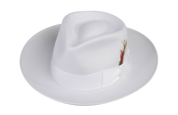 Zoot Fedora Hat in White #NHT19-70W