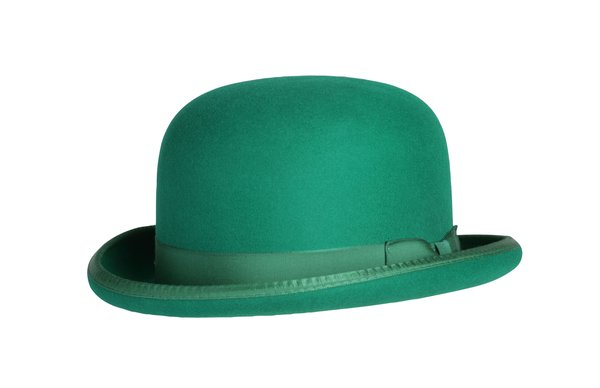 Classic Derby Hat in Kelly Green #NHT03-22