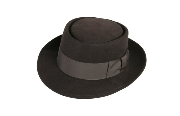 Classic Pork Pie Hat in Fall Brown #NHT27-99