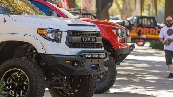 Toyota Tundra 14 Storm Trooper Front Bumper Expedition One