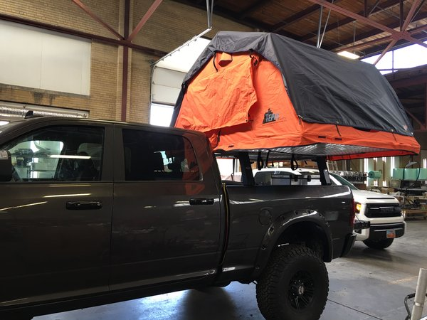Mule Truck Load Bar Rack Kit Expedition One