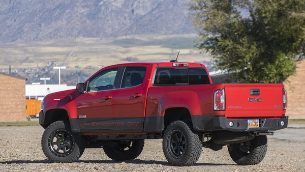 Gmc Canyon Rear Bumper Expedition One