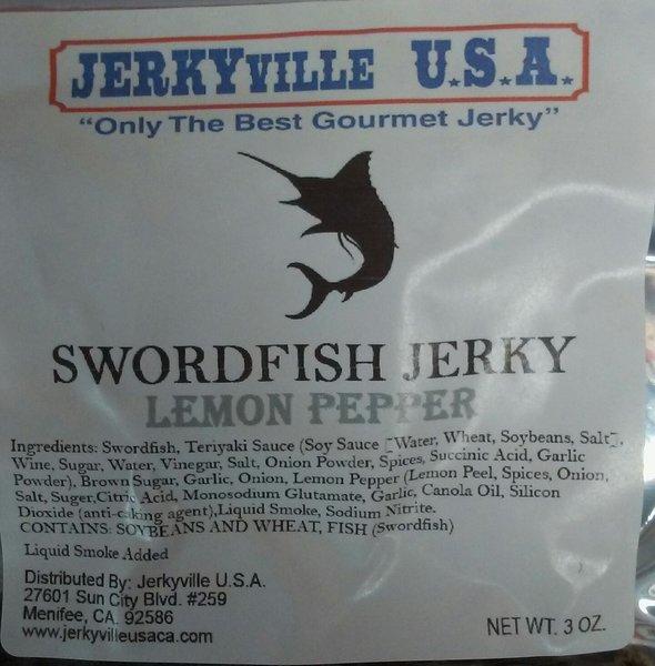Swordfish Jerky