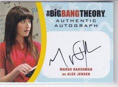 The Big Bang Theory Seasons 6 & 7 Margo Harshman as Alex Jensen Autograph card MH2