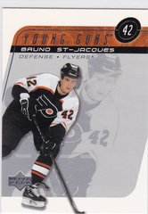Bruno St-Jacques 2002-03 Upper Deck Hockey Young Guns card # 218